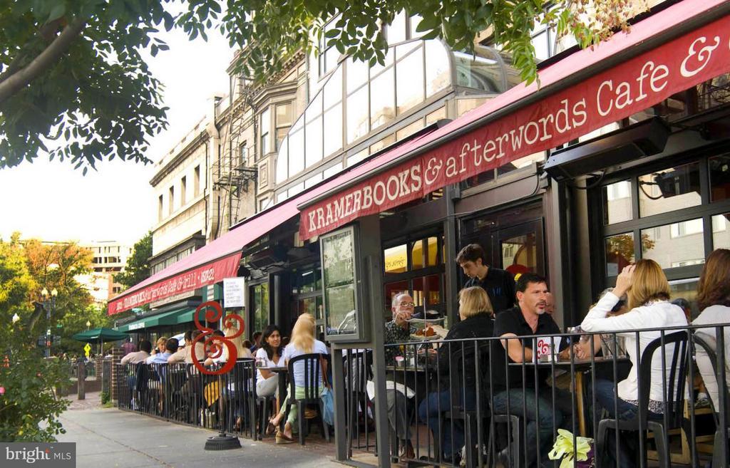 Kramerbooks & Afterwords Cafe - 1524 18TH ST NW #1, WASHINGTON