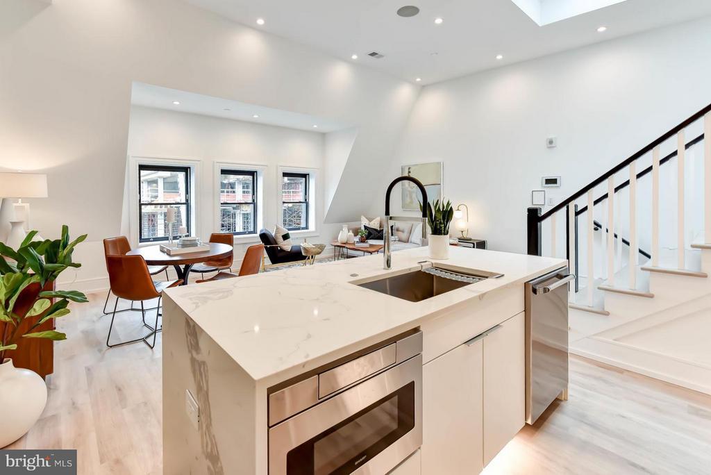 Kitchen - 1524 18TH ST NW #7, WASHINGTON