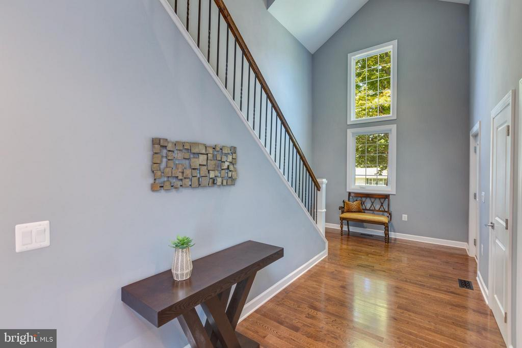 IInviting Foyer with Soaring Ceilings - 3151 ANNANDALE RD, FALLS CHURCH