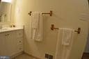 Lrg.  bath, w/new built in and medicine cabinedet. - 3804 14TH ST N, ARLINGTON