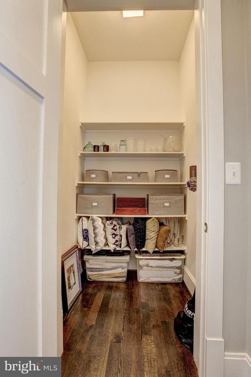 Closet / Elevator Shaft to all 3 Levels - 4957 ROCK SPRING RD, ARLINGTON