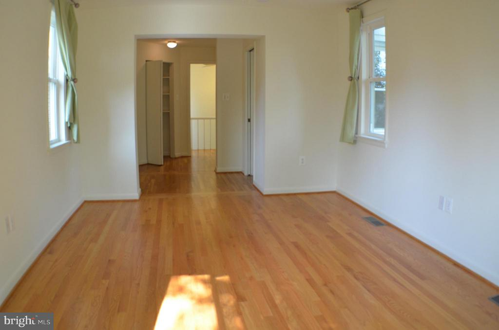 2nd view of bedroom two, W/dressing room or office - 3804 14TH ST N, ARLINGTON