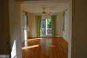Room for two, w/sliding glass doors to balcony. - 3804 14TH ST N, ARLINGTON