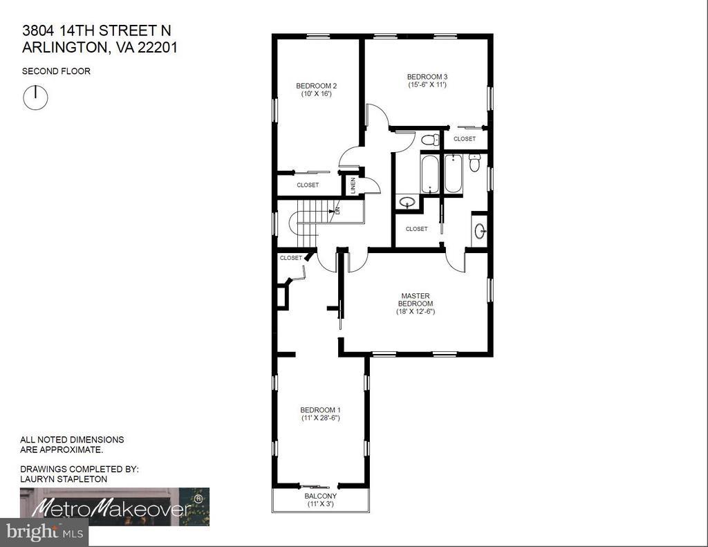 Second Floor - 3804 14TH ST N, ARLINGTON