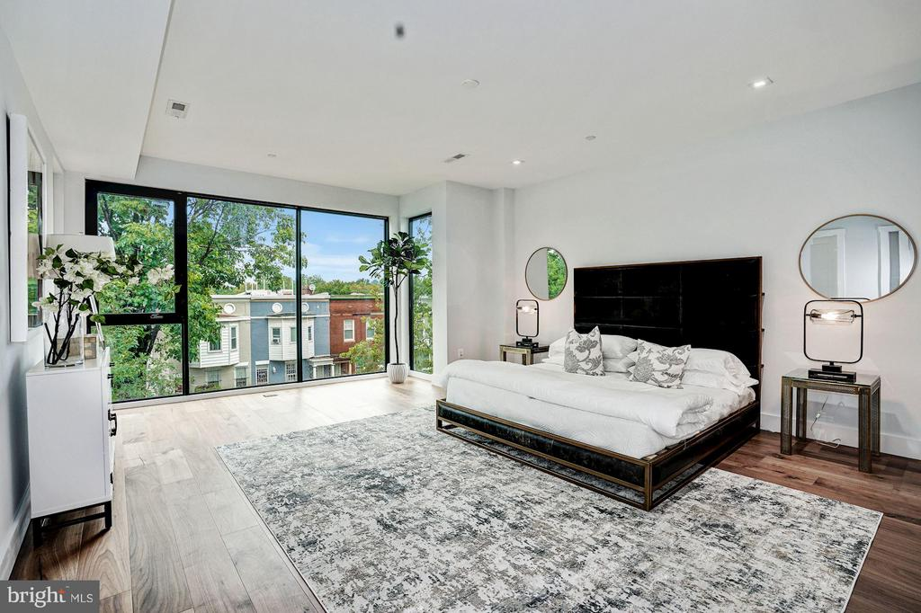 Spacious Master w/Floor to Ceiling Windows - 210 P ST NW #UNIT #3, WASHINGTON