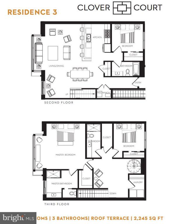 Floorplan - 210 P ST NW #UNIT #3, WASHINGTON