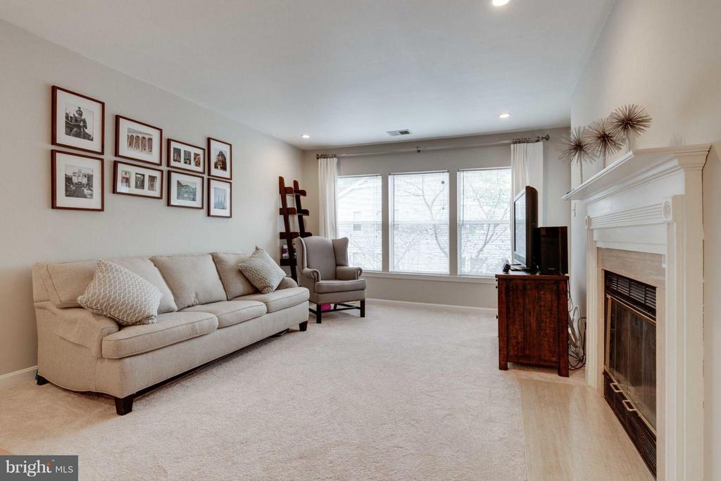 Living Room - 7705 LAFAYETTE FOREST DR #23, ANNANDALE