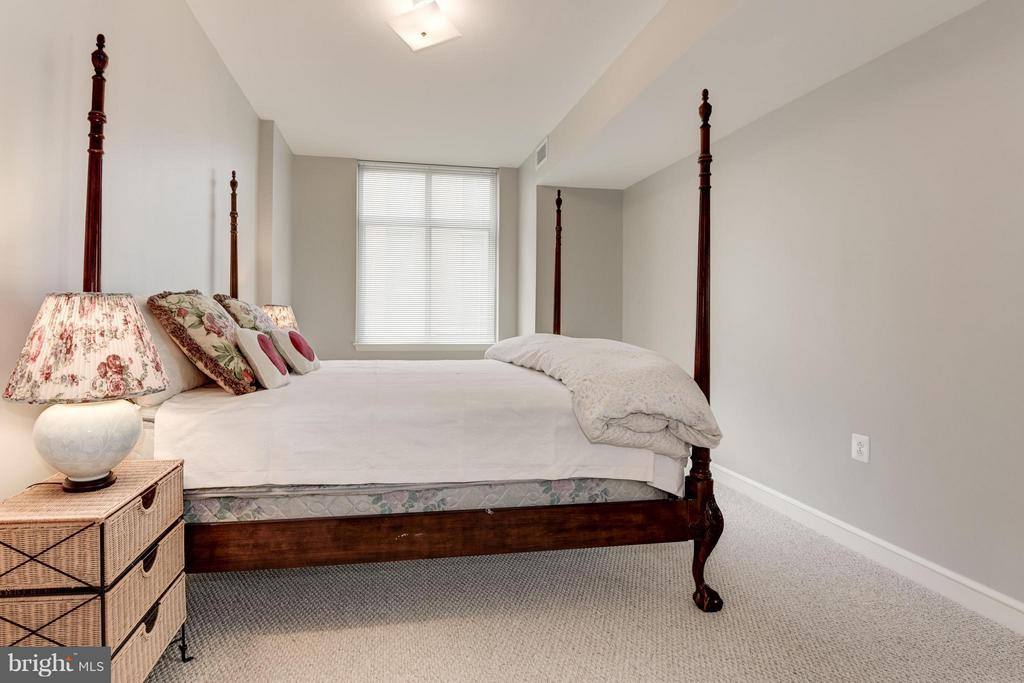 Large Master suite with new carpet - 11990 MARKET ST #405, RESTON