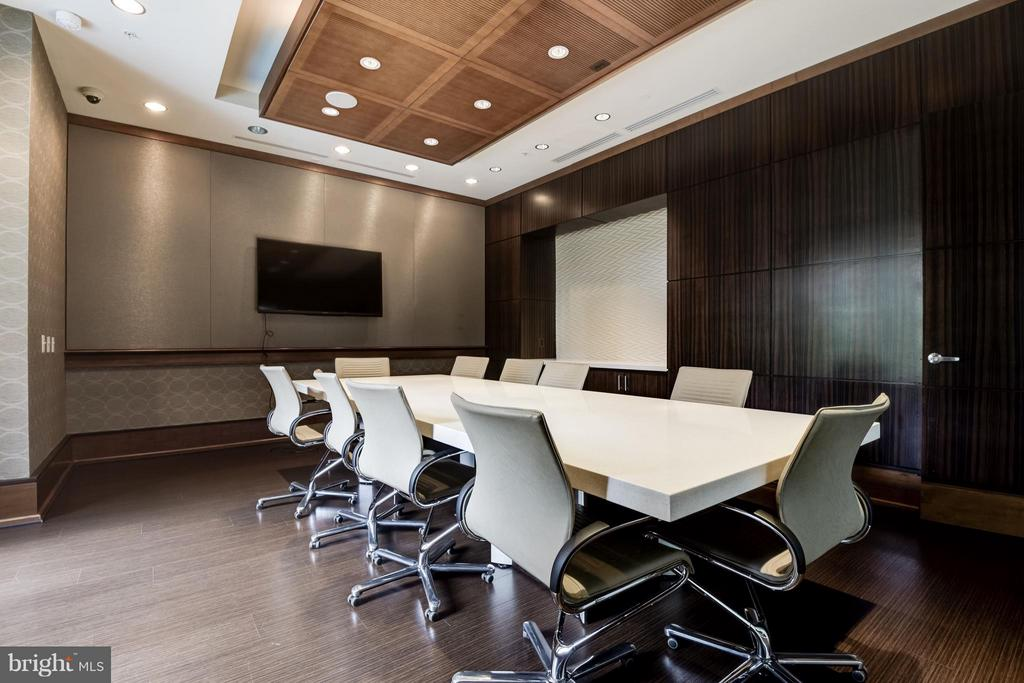 Professional conference room - 11990 MARKET ST #405, RESTON