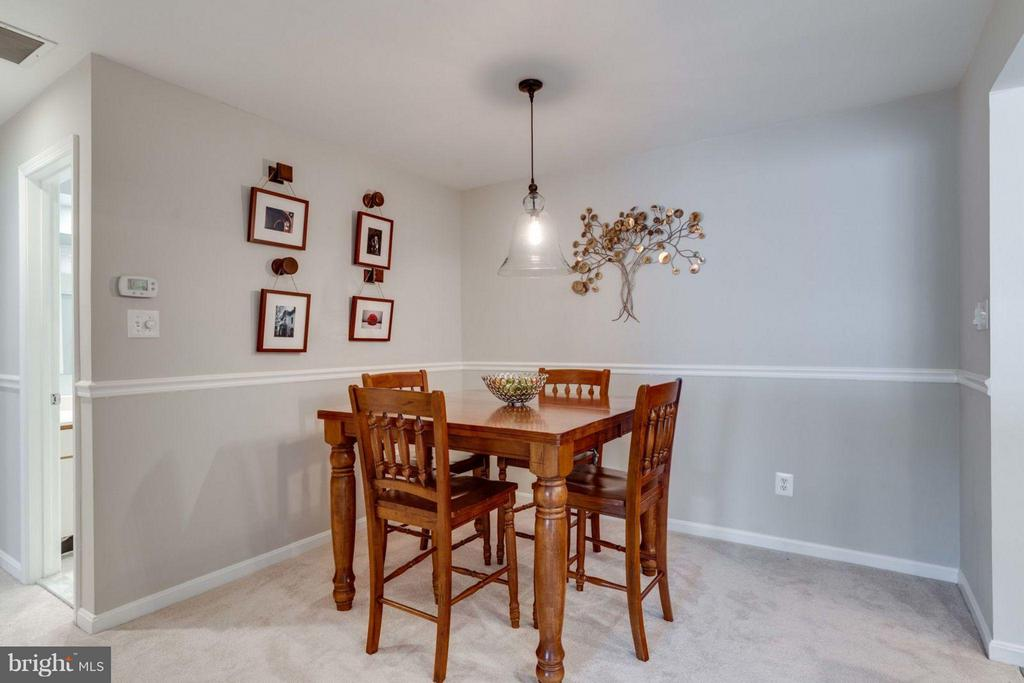 Dining Room - 7705 LAFAYETTE FOREST DR #23, ANNANDALE