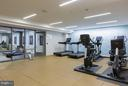 Gym and exercise room right in the building - 601 FAIRFAX ST N #212, ALEXANDRIA