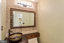 Main Level Powder Bath - 10658 CANTERBERRY RD, FAIRFAX STATION