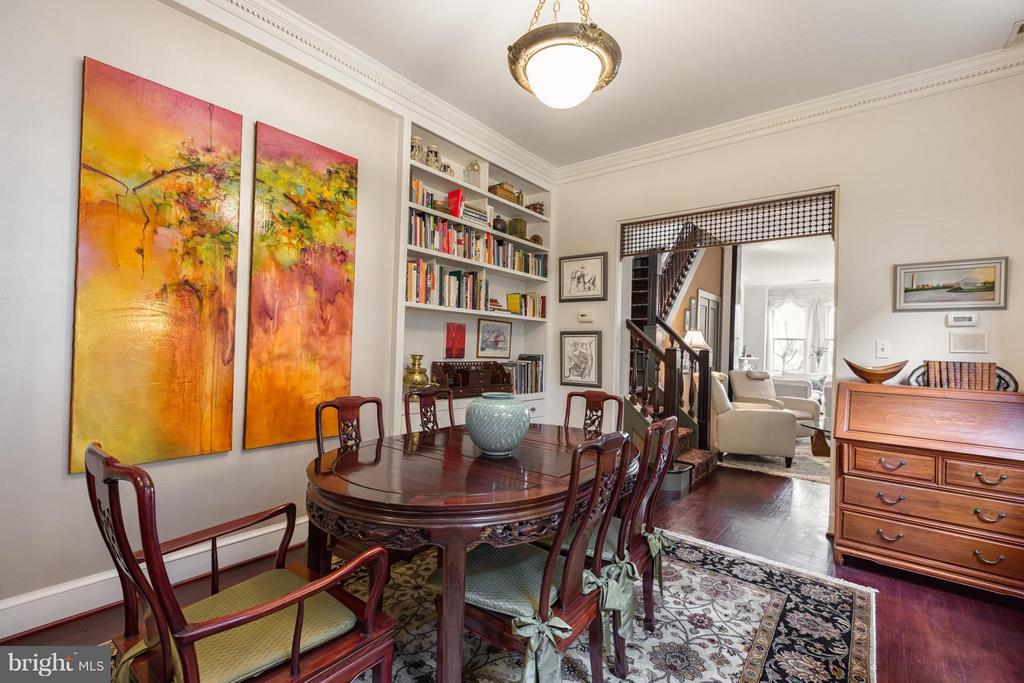 Dining Room with 10 foot ceilings - 218 ALFRED ST N, ALEXANDRIA