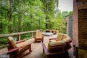 Entertainment Deck Sitting Area - 10658 CANTERBERRY RD, FAIRFAX STATION