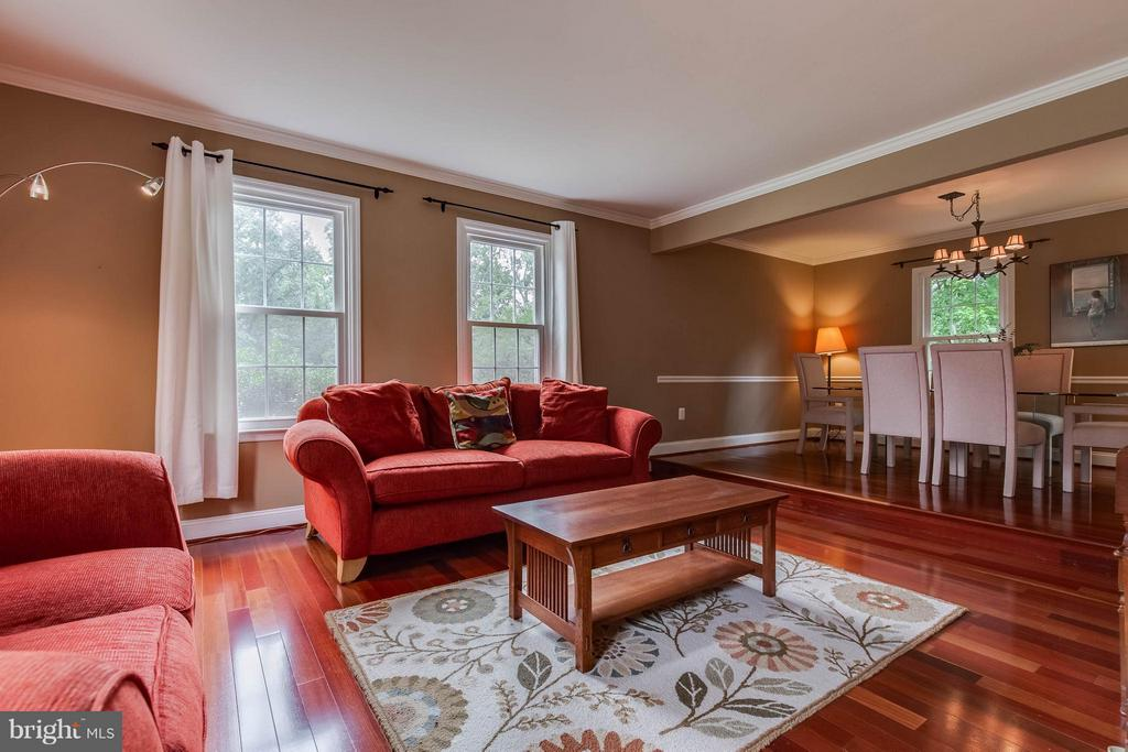 Those floors! - 4820 POWELL RD, FAIRFAX