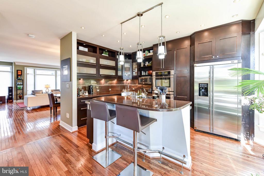 Fabulous renovated kitchen - 505 THOMAS ST N, ARLINGTON