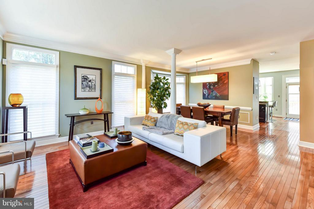 Light filled with and open floor plan - 505 THOMAS ST N, ARLINGTON