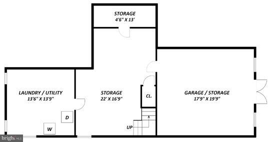 Floor Plan -- Lower Level - 2101 WALTONWAY RD, ALEXANDRIA