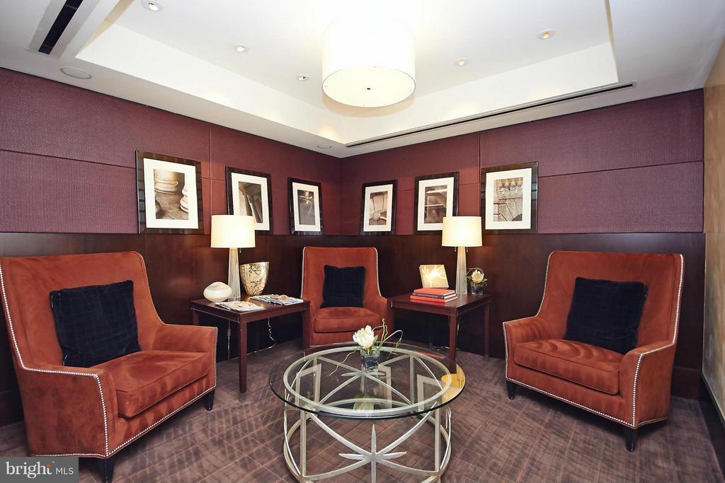 Private Setting Area Near Lobby Entrance - 1111 19TH ST N #1503, ARLINGTON