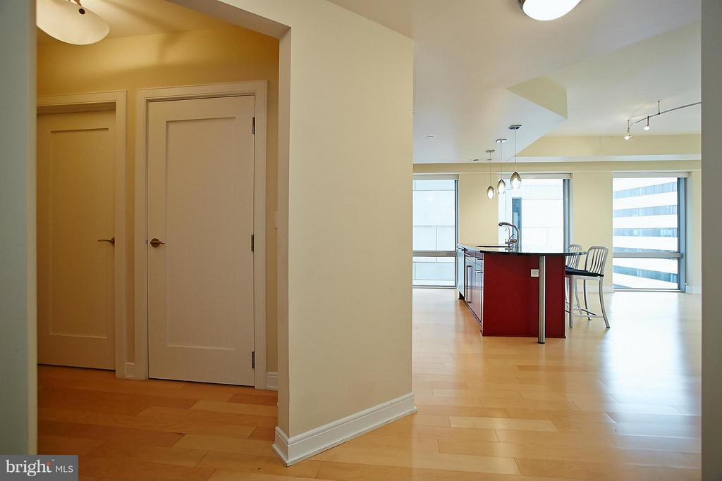 View from Hallway Entry - 1111 19TH ST N #1503, ARLINGTON