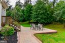 Level private Back Yard - 3321 LADY CATHERINE CIR, TRIANGLE