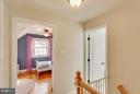 Upper hall - 6928 COLUMBIA DR, ALEXANDRIA