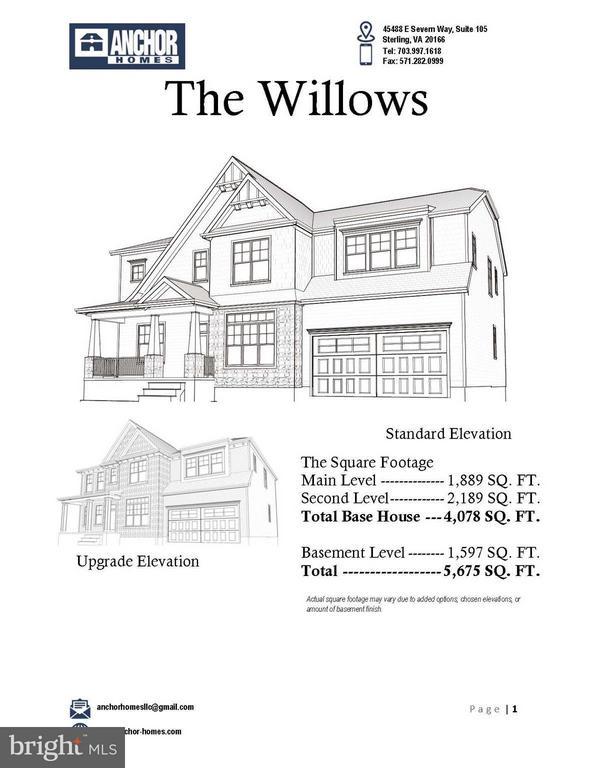 Floor Plan Summary - 7017 WOODLAND DR, SPRINGFIELD