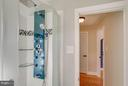 ...with amazing shower! - 6928 COLUMBIA DR, ALEXANDRIA