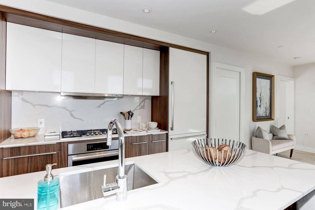 Kitchen - 1427 RHODE ISLAND AVE NW #PH3, WASHINGTON