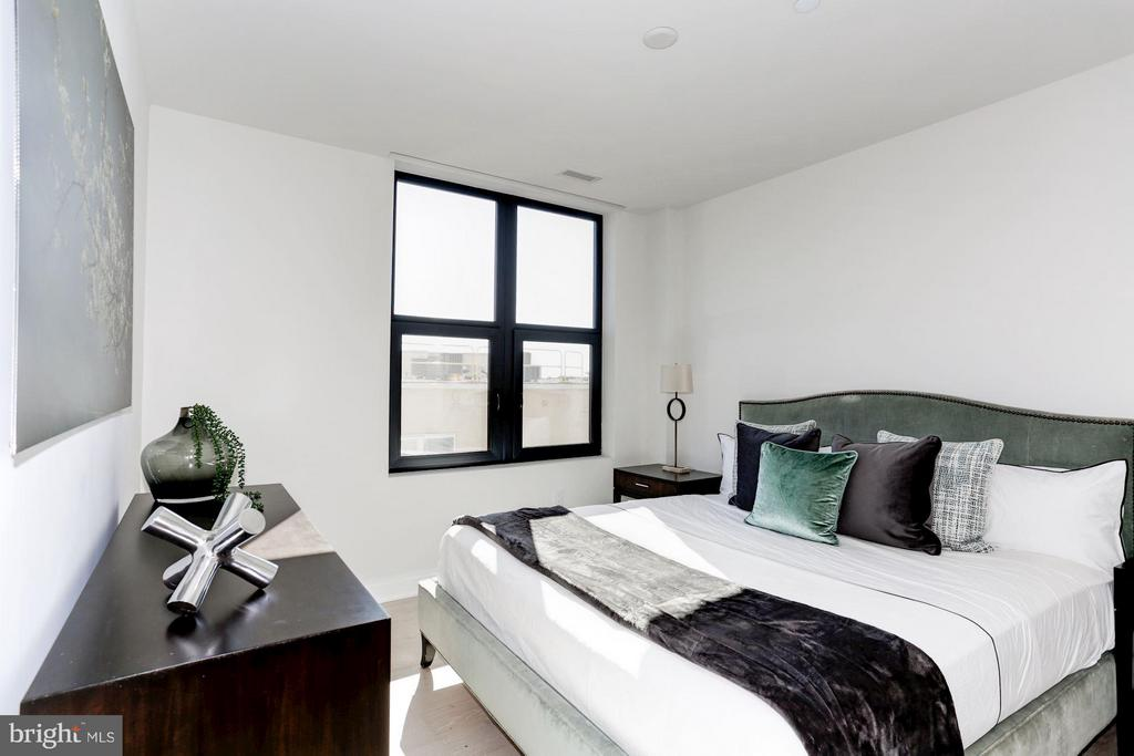 Bedroom (Master) - 1427 RHODE ISLAND AVE NW #PH3, WASHINGTON