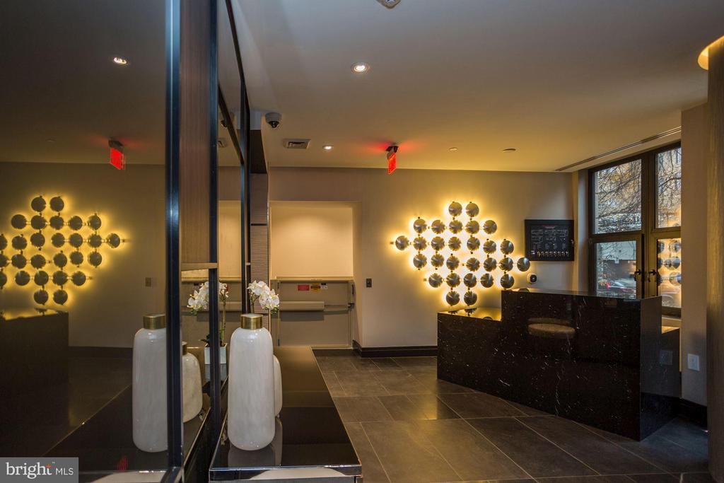 Elysium Lobby - 1427 RHODE ISLAND AVE NW #PH3, WASHINGTON