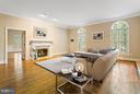 Living Room - 3008 WEBER PL, OAKTON