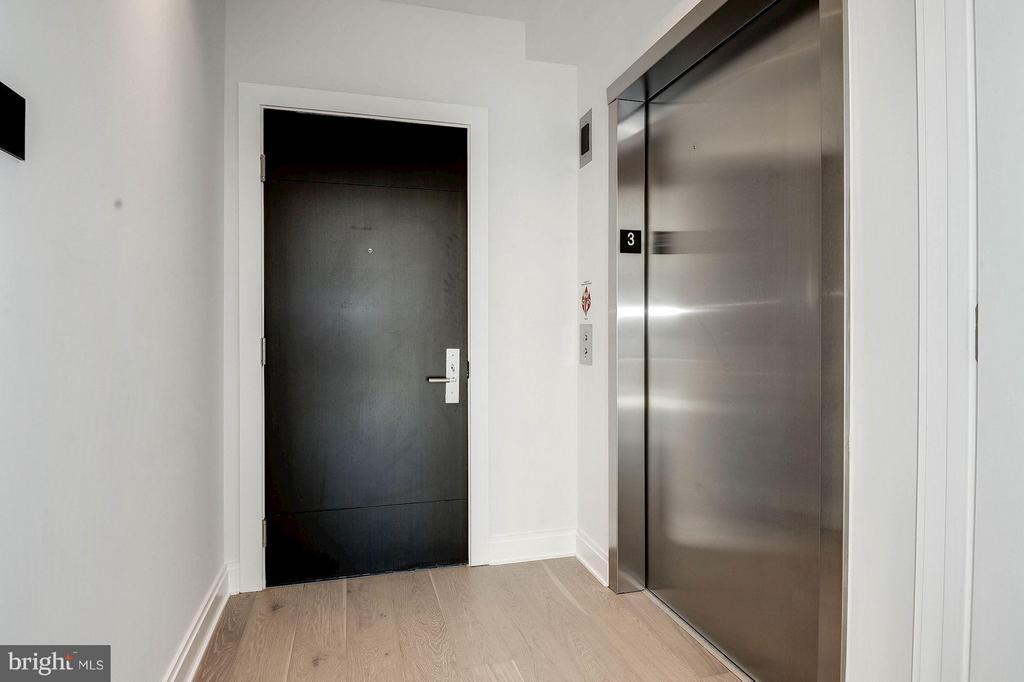 Elevator entrance into residence - 1427 RHODE ISLAND AVE NW #301, WASHINGTON