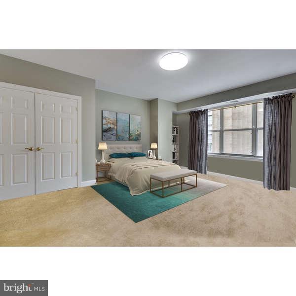 Bedroom (Master) Two Walk-in Closets (virtual) - 1555 COLONIAL TER #501, ARLINGTON