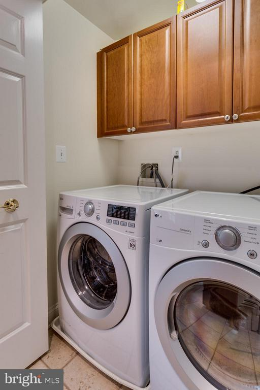Laundry off Kitchen - 1555 COLONIAL TER #501, ARLINGTON
