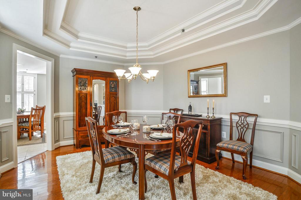 Adjoins Eat-In Kitchen and Living Room - 1555 COLONIAL TER #501, ARLINGTON