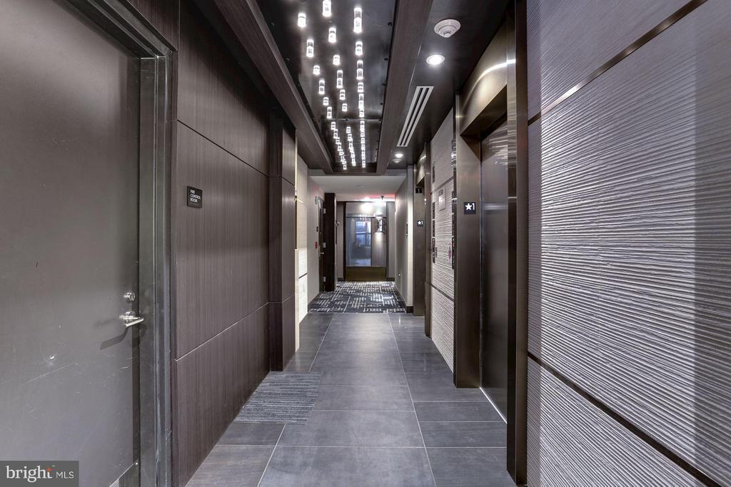 Elevator hallway - 1427 RHODE ISLAND AVE NW #PH1, WASHINGTON