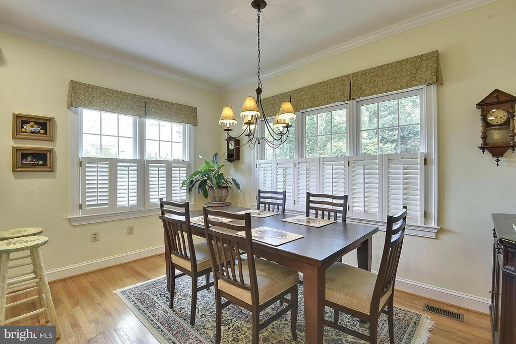 Breakfast Room - 6025 GROVE DR, ALEXANDRIA