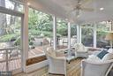Screened Porch - 6025 GROVE DR, ALEXANDRIA