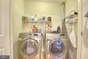 Laundry Area on Upper Level - 6025 GROVE DR, ALEXANDRIA