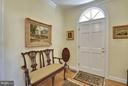 Foyer Entry - 6025 GROVE DR, ALEXANDRIA