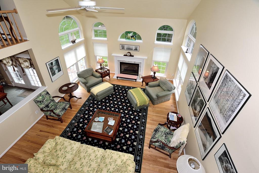 Family Room - 5211 TULIP LEAF CT, CENTREVILLE