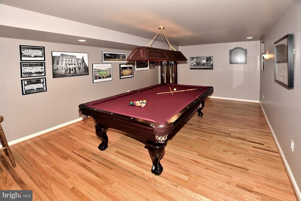 Lower Level Game Room - 5211 TULIP LEAF CT, CENTREVILLE