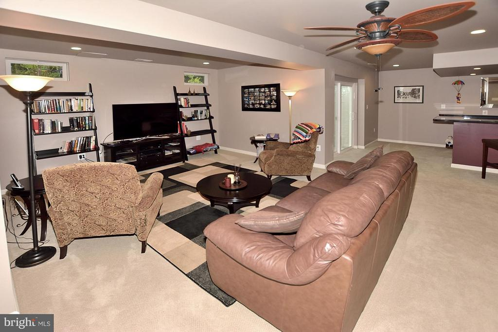 Lower Level Rec Room - 5211 TULIP LEAF CT, CENTREVILLE