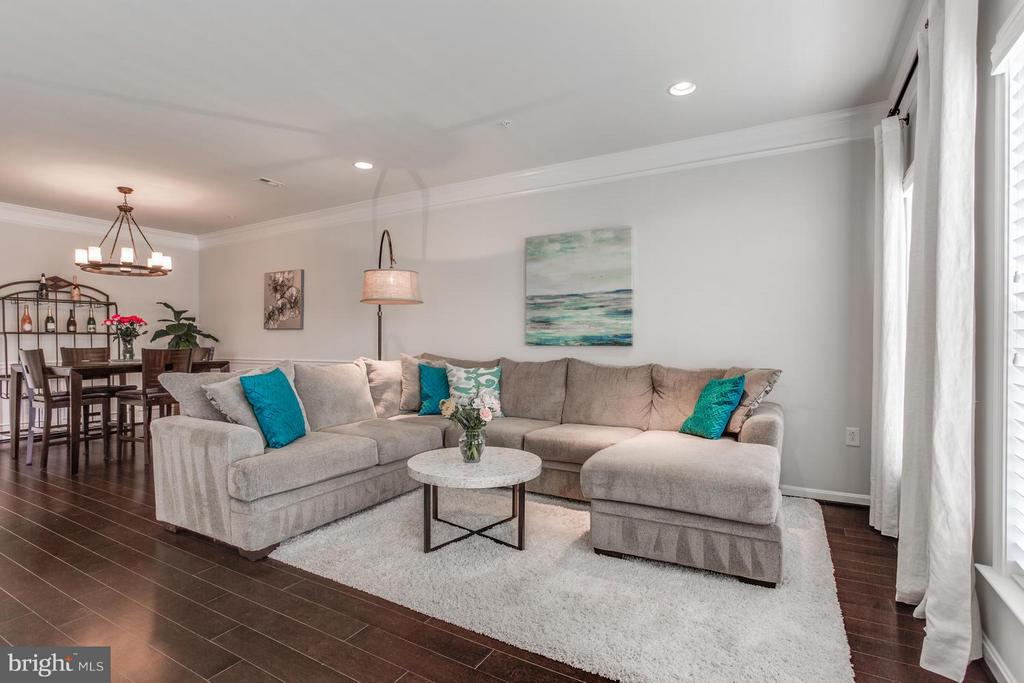 Living Room - 2938 FINSBURY PL #114, FAIRFAX