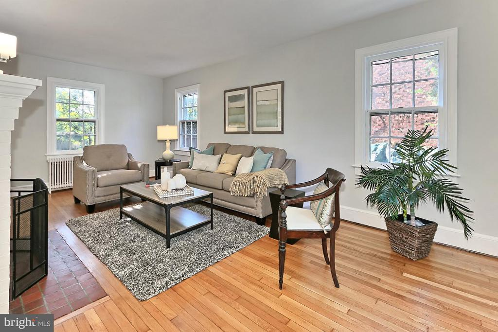 Living Room - 3712 PERSHING DR N, ARLINGTON