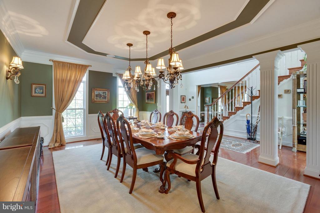 Dining Room - 4300 CHIMNEYS WEST DR, HAYMARKET