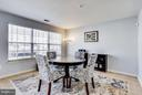 Kitchen / breakfast nook, sliding doors, balconyBr - 12079 TRUMBULL WAY, RESTON