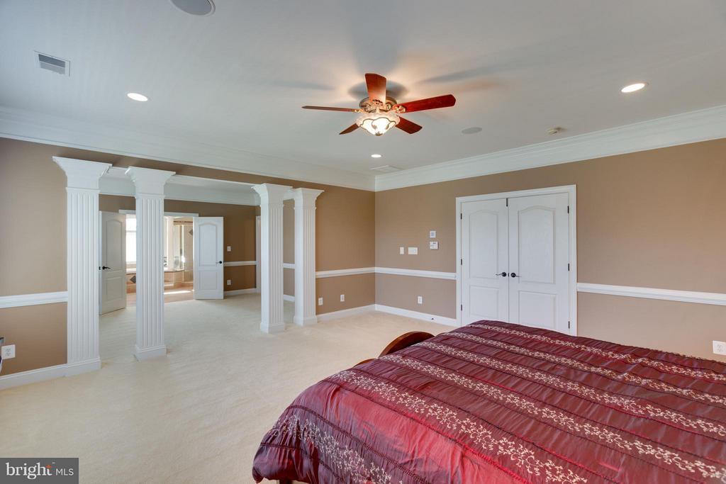 Bedroom (Master) - 4300 CHIMNEYS WEST DR, HAYMARKET