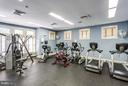 Gym inside the community center - 12079 TRUMBULL WAY, RESTON